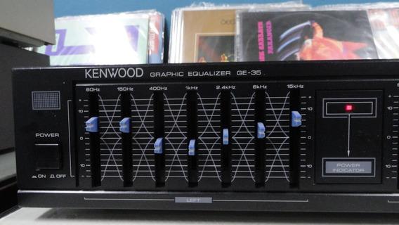 Equalizador Kenwood Ge-35 - Marca De Qualidade