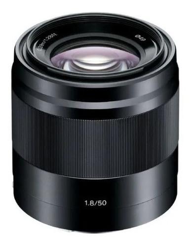 Lente Sony E 50mm F/1.8 Oss (sel50f18) Garantia Novo