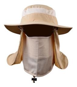 Sombrero Para Sol Con Proteccion Cuello Y Cara