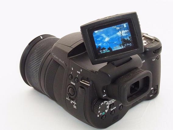 Saldo Camera Sony Dsc R1 Carl Zeiss 24-120mm & Caixa
