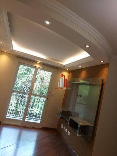 Imagem 1 de 25 de Apartamento Com 2 Dormitórios À Venda, 55 M² Por R$ 295.000,20 - Vila Jaraguá - São Paulo/sp - Ap1156