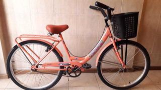 Bicicleta Paseo Rodado 26 Con Gráfica Infantil