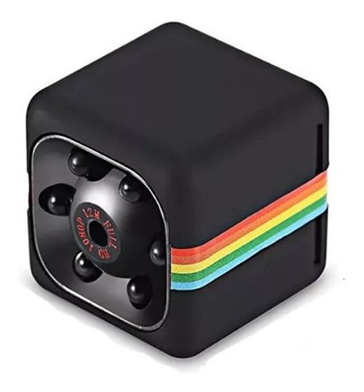 Original Mini Micro Quelima Filmadora Espiã Sq11 Cartão 16gb