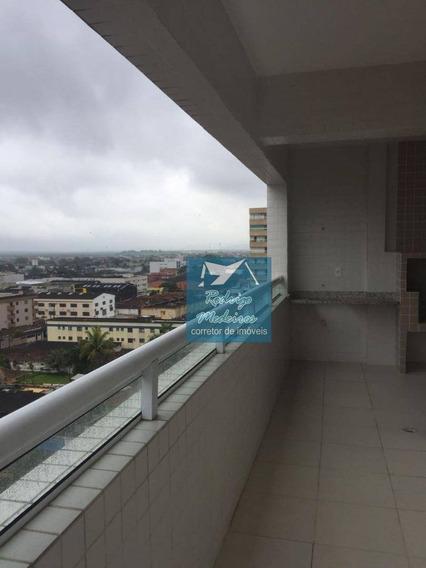 Apartamento De 2 Dormitórios Em Praia Grande - Ap0109