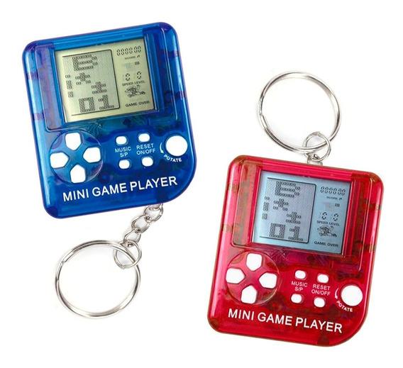 Llavero Tetris Mini Consola Con 9999 Juegos Clásicos