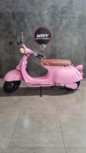Imagem 1 de 5 de 3000w Moto Elétrica Wayy Vespa