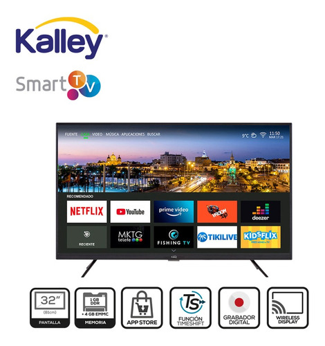 Smart Tv Kalley