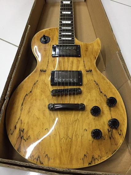 Guitarra Lespaul Hurricane Seg 227 Natural - Hendrix