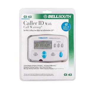Bellsouth Identificador De Llamadas Con Llamada En Espera Ic