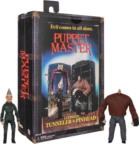 Imagen 1 de 3 de Neca Puppet Master - Tunneler & Pinhead