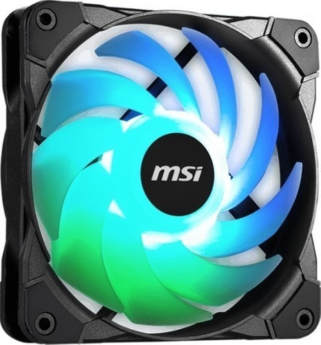 Fan Cooler Refrigeracion Msi Argb 120mm Pc Rgb Antivibración