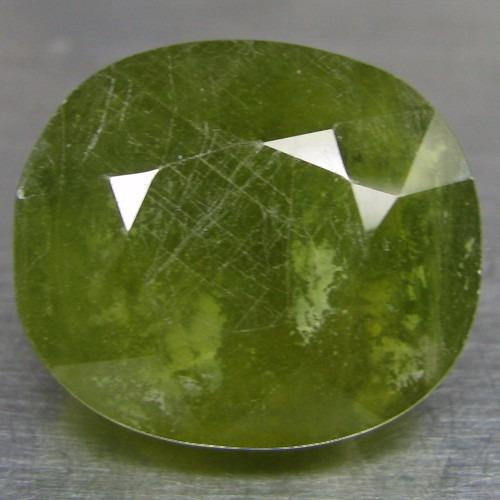 Safira Verde Raridade 17.00ct