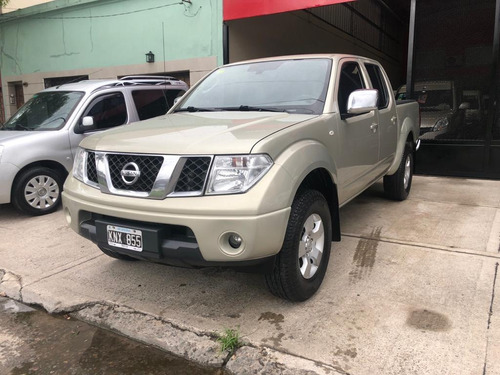 Nissan Frontier 2012 2.5 Le Cab Doble At 4x4
