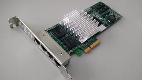 Placa De Rede Quad Port Intel Pro1000 Pci-e