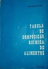Livro Tabela De Composiçao Química De Al Guilherme Franco