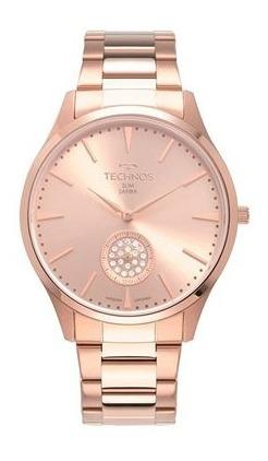 Relógio Technos Slim Feminino Vd78ac/4t