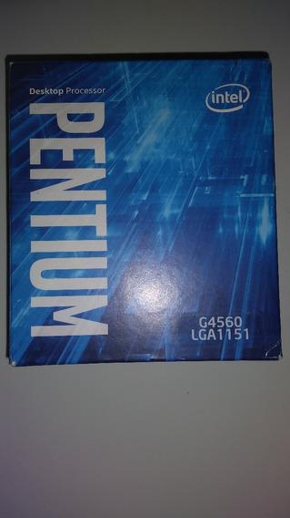 Processador Pentium G4560 Kaby Lake, Cache 3 Mb,3ghz, Hd 610