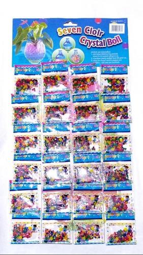 Hidrogel Multicolor X 24 Sobres Perlitas