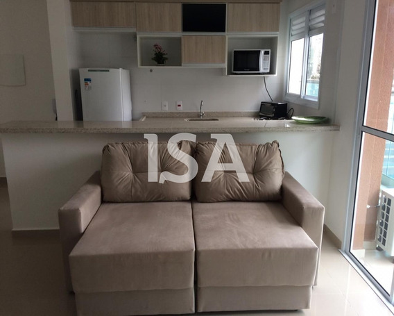 Alugar Flat Mobiliado, Edifício Way Compact Premium,parque Campolim,sorocaba,apartamento Com 48 M² ,01 Suite Com Armários Embutidos, Banheiro Co - Ap02082 - 34331479