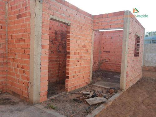Imagem 1 de 11 de Casa Em Araçoiaba  No Bairro Jardim  Novo Horizonte - Ca0324