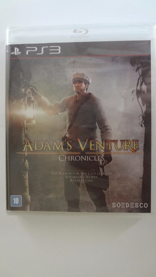 Adams Venture Chronicles Ps3 - Mídia Física - Novo E Lacrado