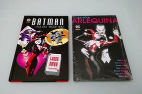 Batman Arlequina Encadernados Dc Comics