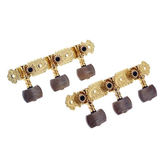 Alice Aos-020b4p 1 Par Ouro - Banhado 3 Cabeça Máquina Cláss