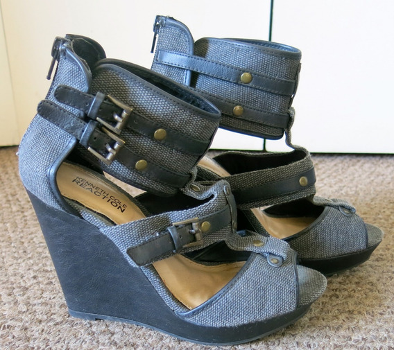 Sandalias Kenneth Cole Gris