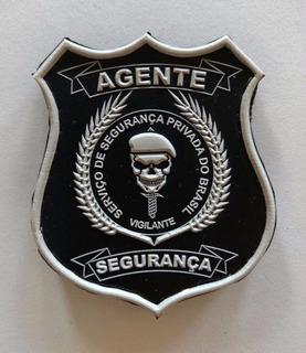Brasão Emborrachado Agente Segurança