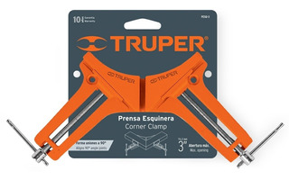 Prensa Esquinera Profesional, 3 De Aluminio Truper