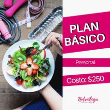 Consulta Nutricional: Plan Básico Online