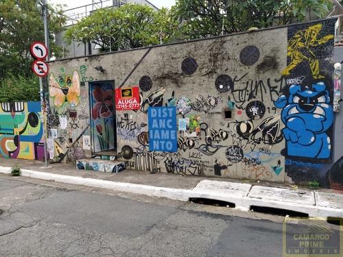 Imóvel Em Rua Tranquilo, Próximo Do Beco Do Batman Na Vila Madalena!  - Eb87022