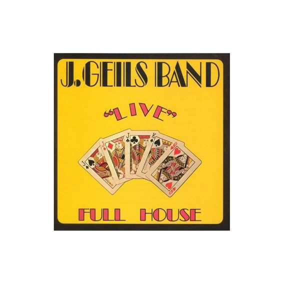 Geils J Full House Live Usa Import Cd Nuevo