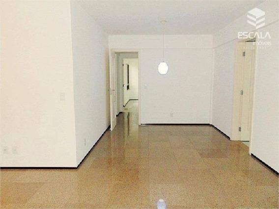 Apartamento Com 3 Quartos À Venda, 127 M², 2 Vagas, Financia - Cocó - Ap1029