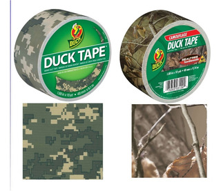 Cinta Camo Duck Tape Digital Militar Caceria Rifle Airsoft