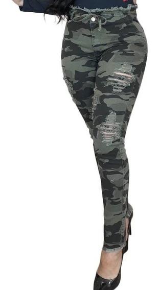 Calça Feminina Jeans Levanta Bumbum Modeladora Tendência