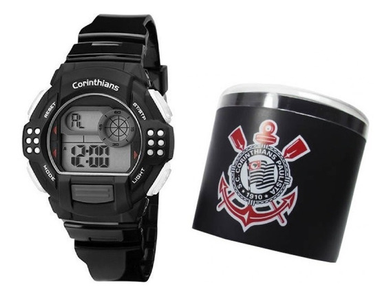 Relógio Technos Masculino Esportivo Corinthians Cor13615a/8p