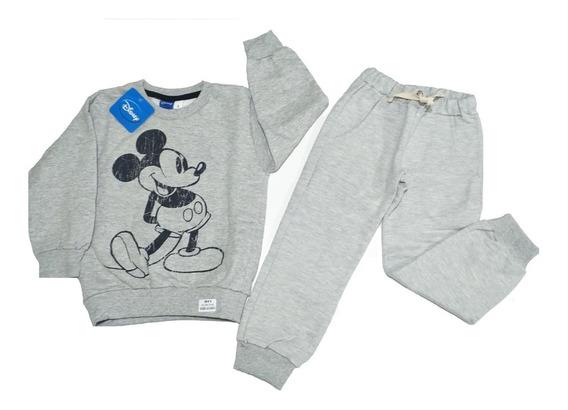 Conjunto Pantalon Y Buzo Mickey Rosa Niña Fty Calzados