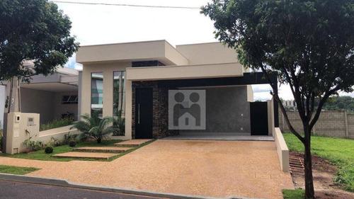 Imagem 1 de 26 de Casa Com 3 Dormitórios À Venda, 149 M² Por R$ 850.000 - Recreio Das Acácias - Ribeirão Preto/sp - Ca1045