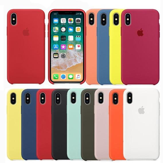 Funda iPhone Xs Max Silicon Carcasa 100% Apple Original