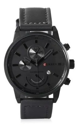 Relógio Masculino Aço Inoxidável Curren 8217