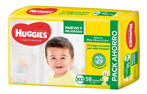 Huggies Classic Triple Proteccion Promopack