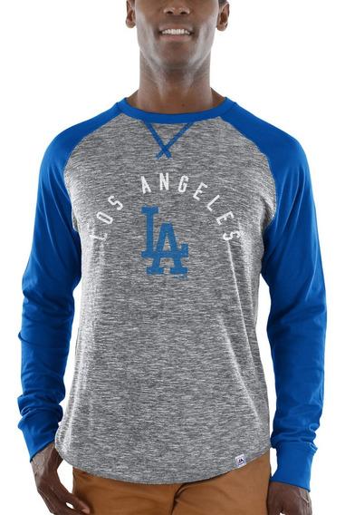 Los Angeles Dodgers Majestic Special Move Camiseta 2xl Manga
