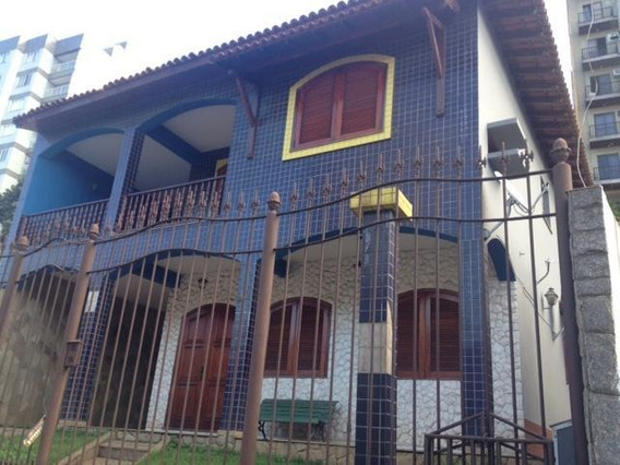 Casa Para Venda Em Volta Redonda, Jardim Amália, 5 Dormitórios, 1 Suíte, 4 Banheiros, 4 Vagas - 113