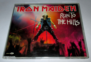 Cd Iron Maiden Run To The Hills, Single