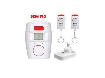 Kit Alarme Sem Fio Residencial (10 Unidades)