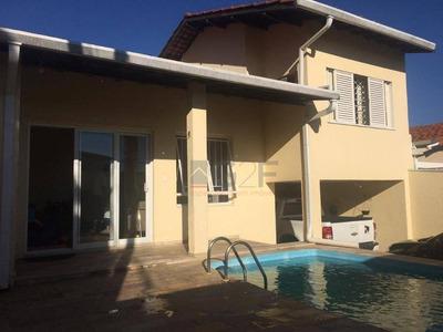 Casa Com 3 Dormitórios À Venda, 180 M² Por R$ 580.000 - Jardim Proença - Campinas/sp - Ca5482