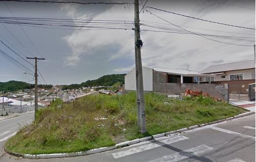 Imagem 1 de 6 de Terreno De Esquina 297m² No Loteamento Jardins Palhoça Sc Com Viabilidade Residencial. - Sc - Te0026_heli