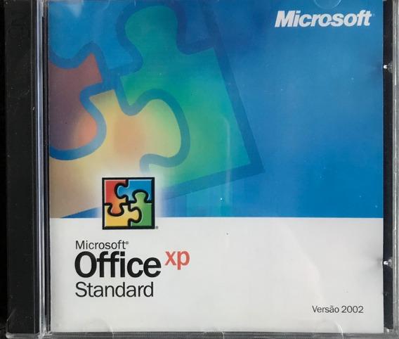Office Xp Standard - Com Serial - 2 Mídias - Novo E Lacrado