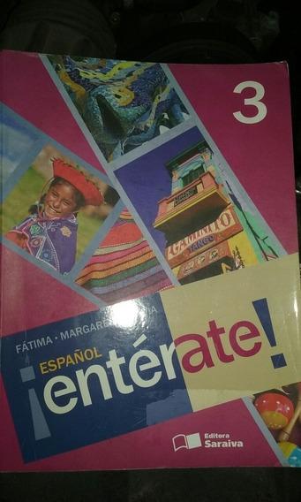Livro De Espanol Enterate! 3 - Usado